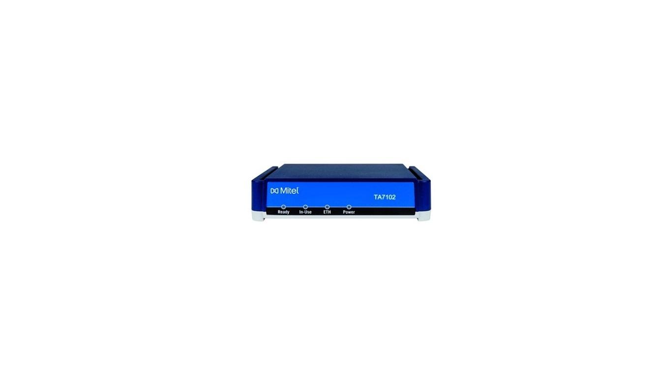 Mitel TA7102 VoIP Terminal Phone Adapter 51304959