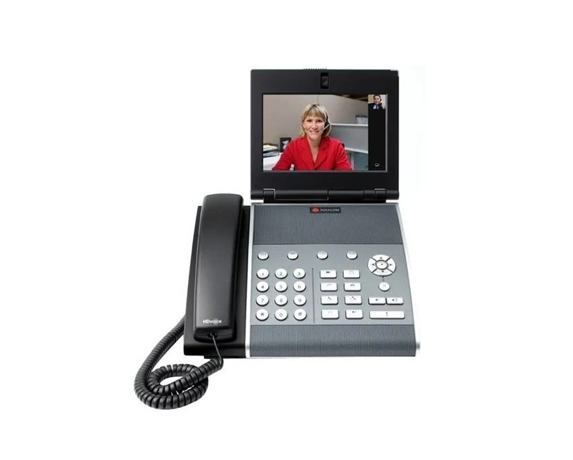 Polycom VVX 1500 IP Dual Stack Video 7 LCD Phone 2200-18064-025