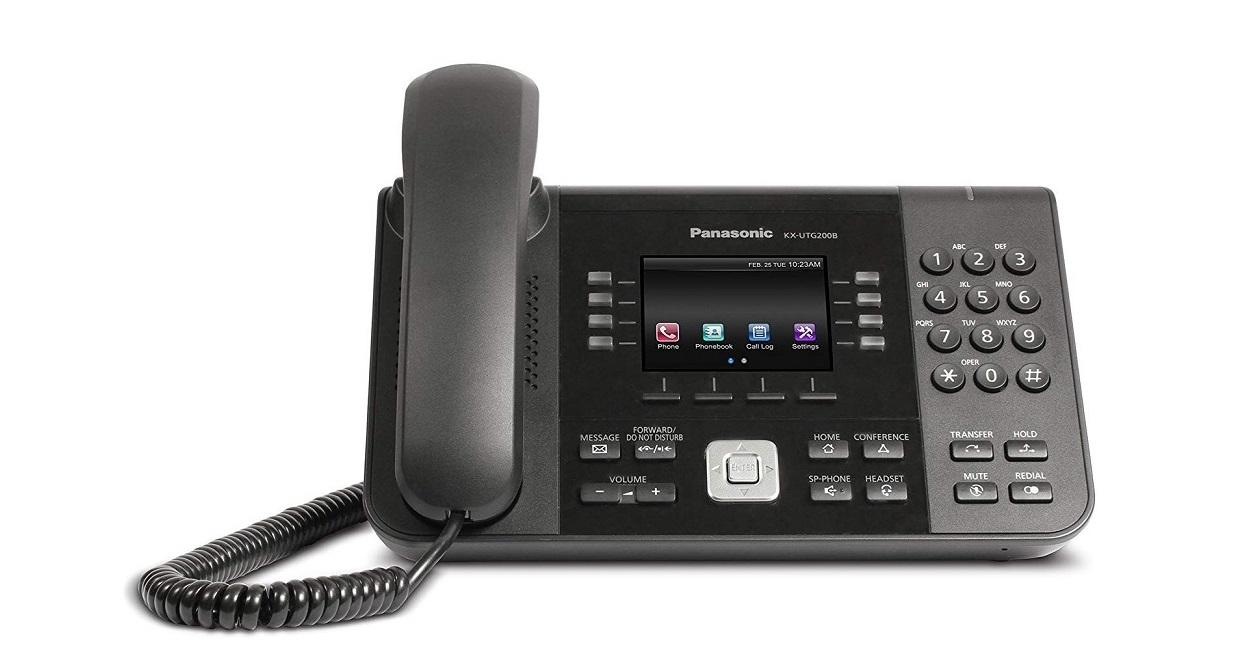 Panasonic Utg Series Sip VoIP Phone KX-UTG200B