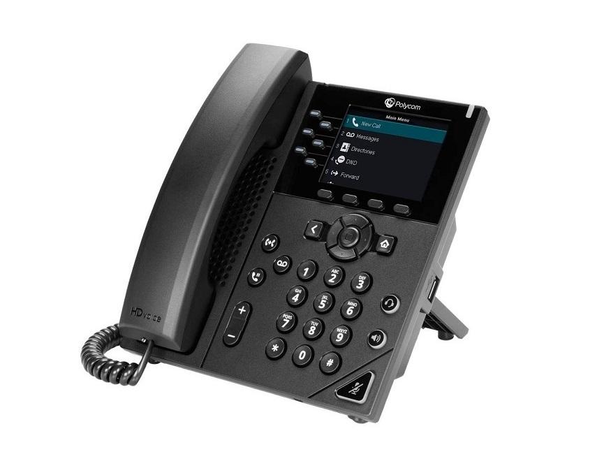 Polycom VVX 350 VoIP Business Phone 2200-48830-025