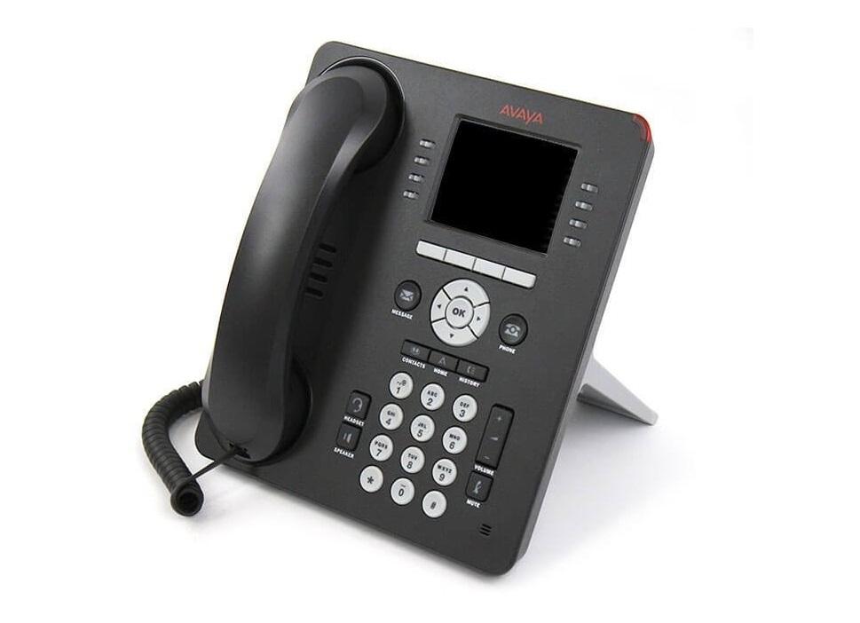 Avaya 9611G IP Deskphone VoIP Phone Wall Mountable Gray 700507948