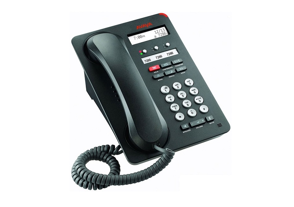 Avaya 1403 Ip Office Digital Phone Black 700508193