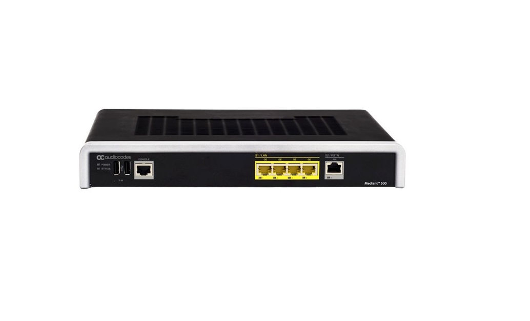 Audiocodes Mediant 500 Session Single E1/T1 Voip Gateway M500-V-1ET