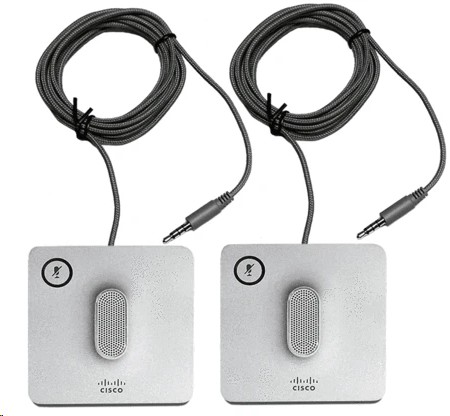 Cisco Wired Microphone Kit Pack Of 2 CP-8832-MIC-WIRED=