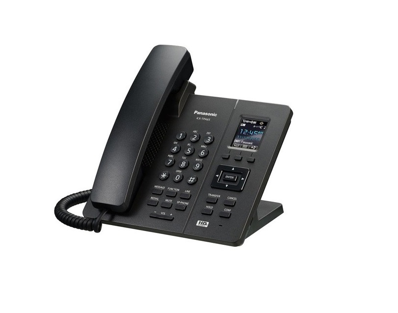 Panasonic KXTPA65 Cordless Extension Phone Black KX-TPA65
