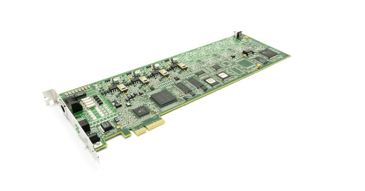 Dialogic Brooktrout TR1034+E4-4L Analog Pci Express x4 Fax Board 901-007-09