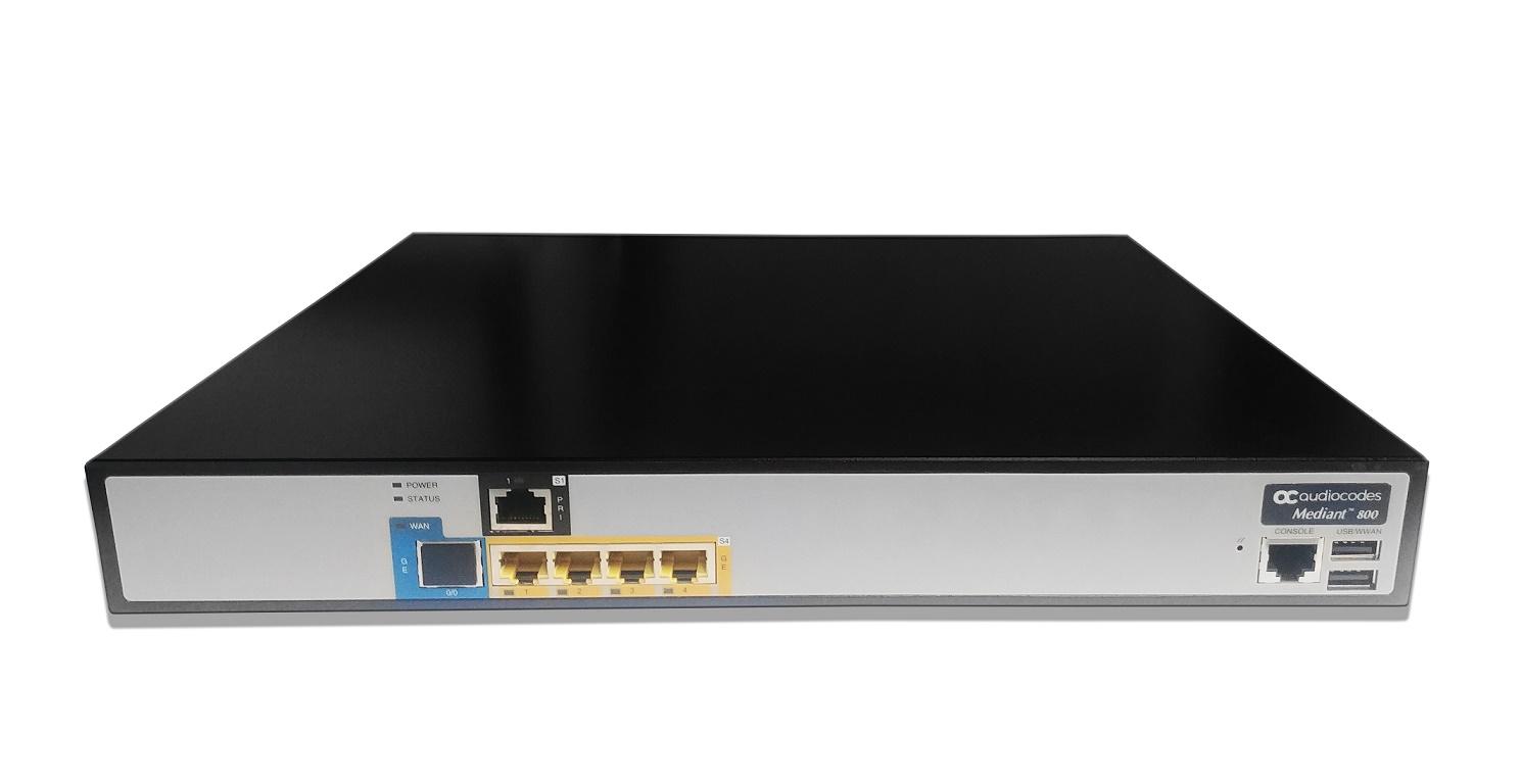 Audiocodes Mediant 800B VoIP Gateway M800B-V-1ET-4L