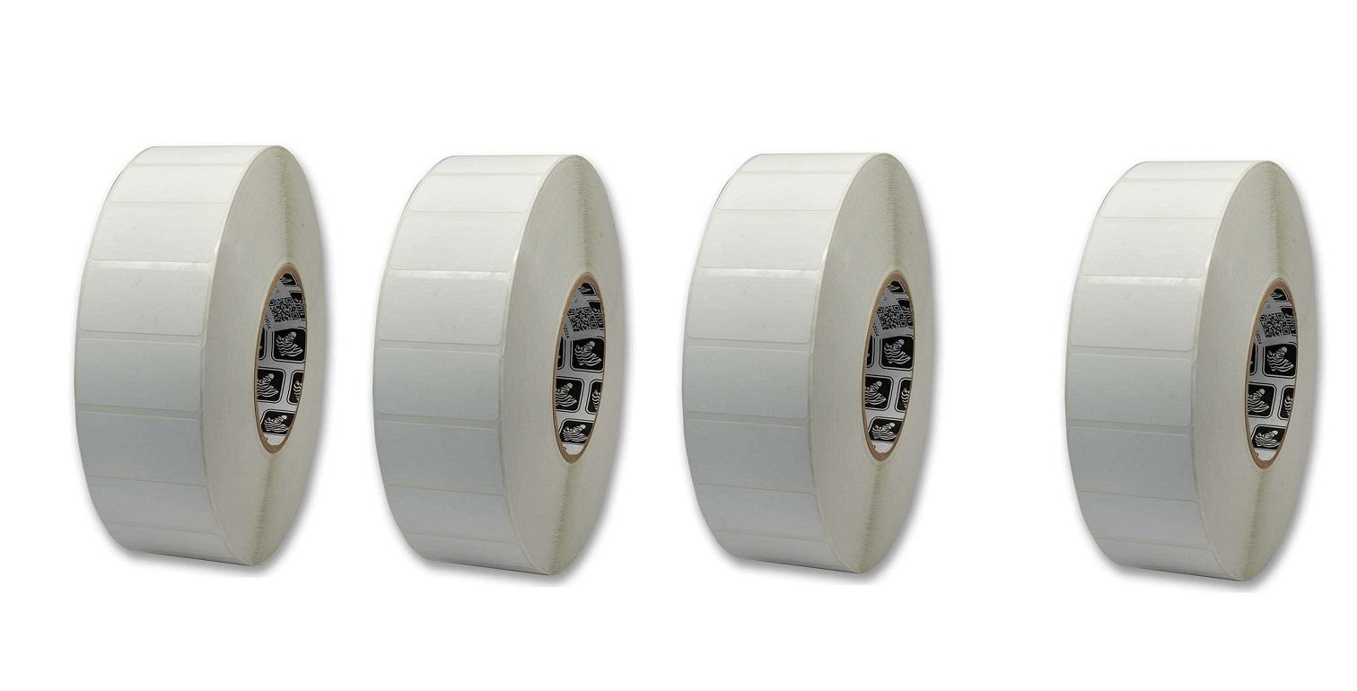 Zebra Z-Select 4000T 2.25 X 1.25 Thermal Transfer Paper Pack of 4 800622-125
