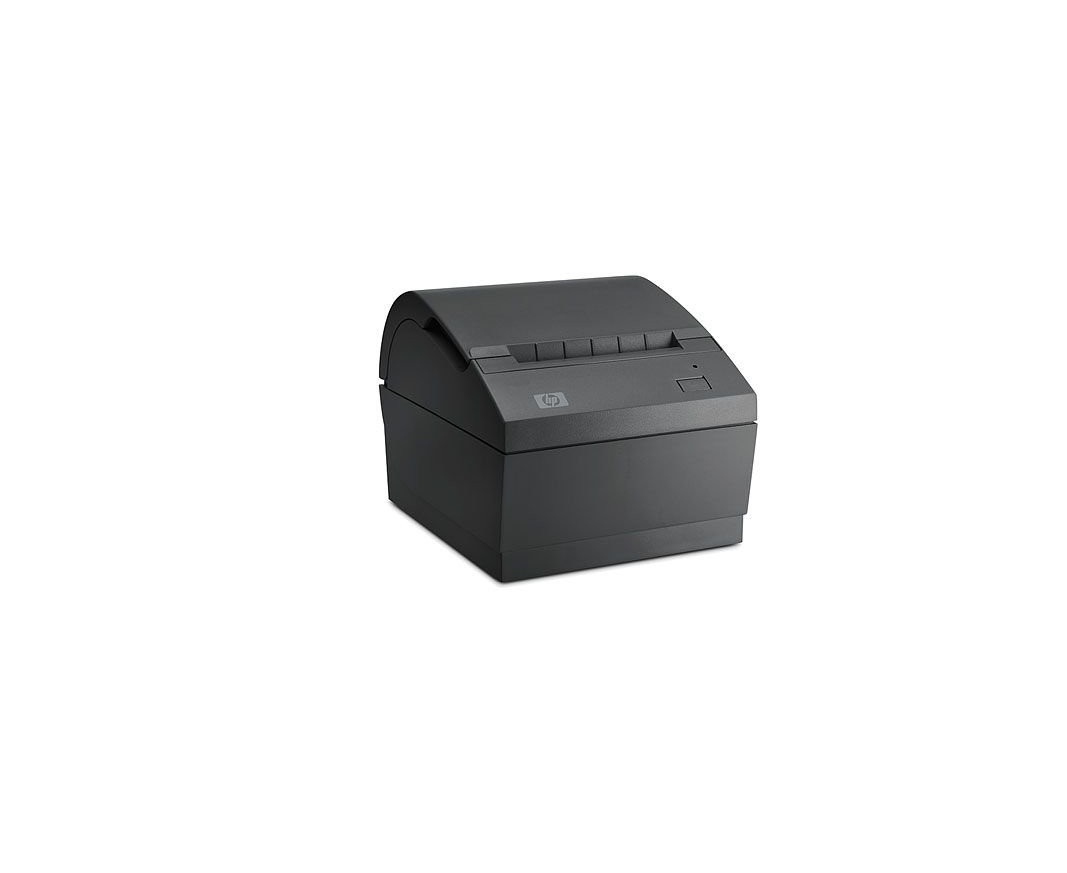 HP Bundle Single Station Direct Thermal Receipt Printer Monochrome 203dpi PoweredUSB FK224AA