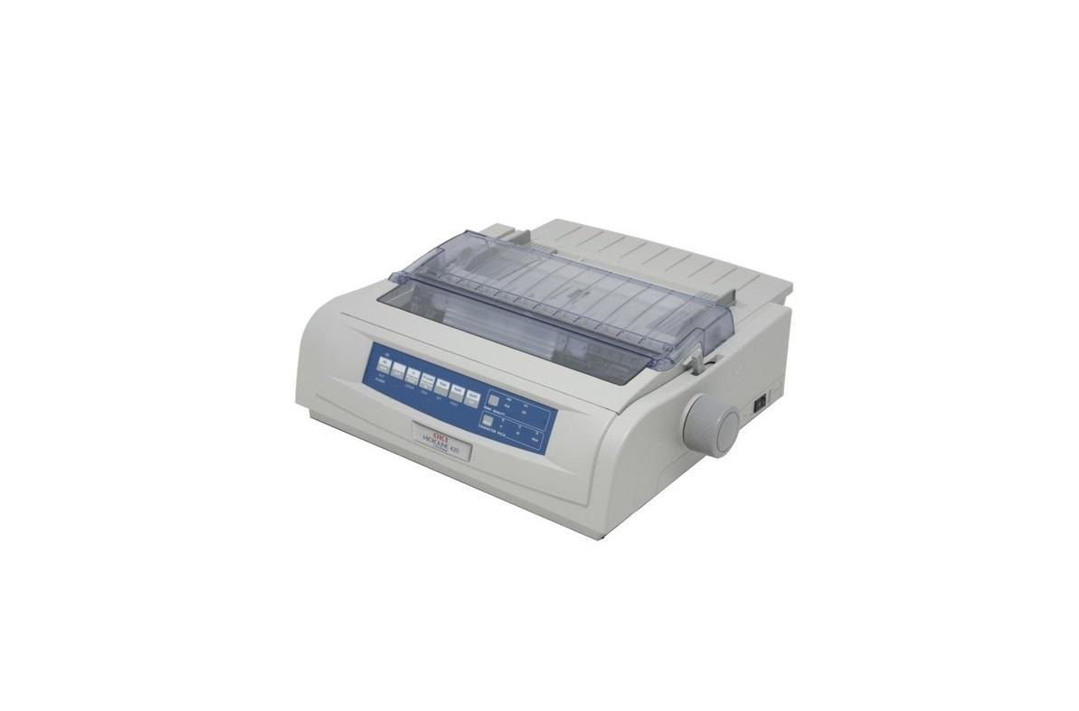 OKI Microline 421N Dot Matrix Printer Parallel USB Ethernet 62418803