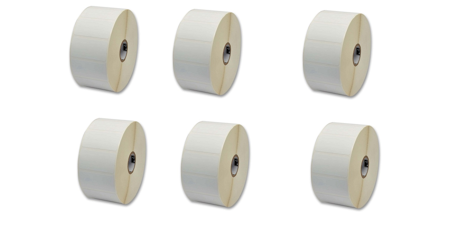 Zebra Z-Select 4000D 2.25x3 Direct Thermal Paper Label 6-Pack 10010042 (New Unused)