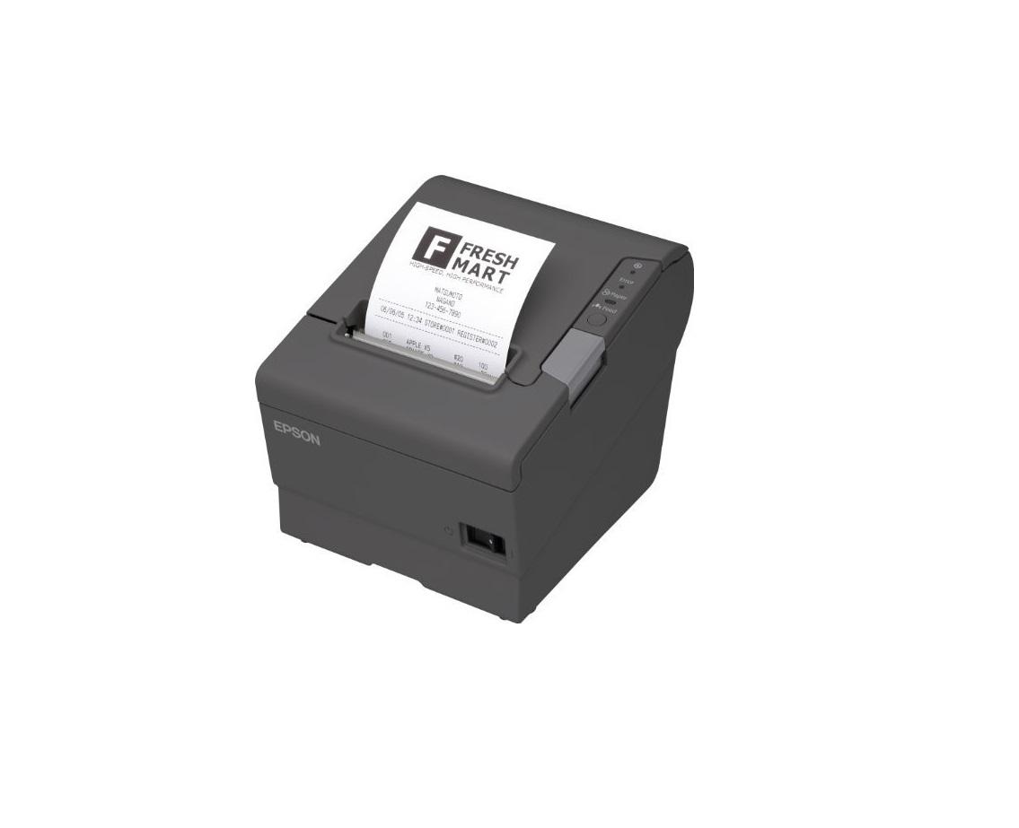 Epson TM-T88V B/W Thermal Line Receipt Printer Mono Serial USB w/ Auto-Cutter C31CA85084
