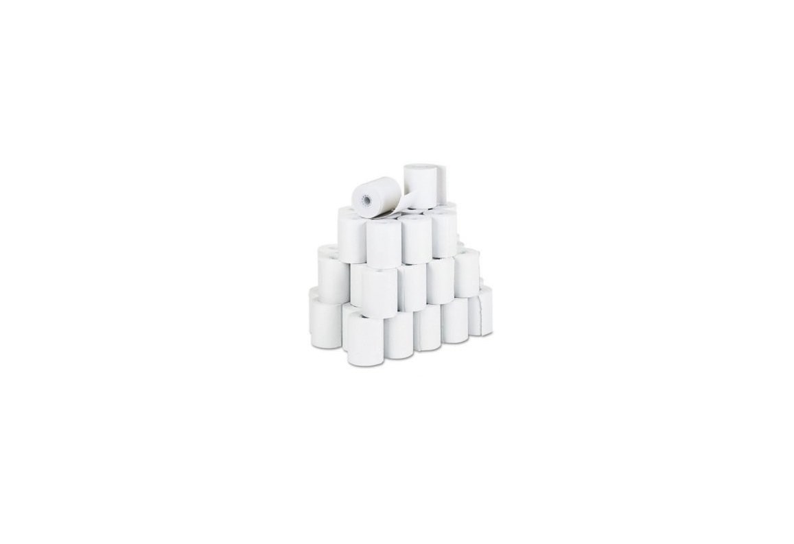 Ithaca 98-0558 3.25x125' Direct Thermal Receipt Paper Pack of 50