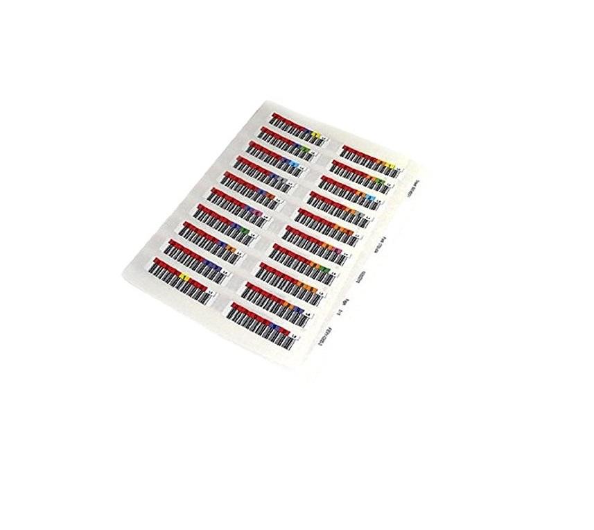Quantum Data Cartridge Bar Codes Pack of 200 3-04307-05