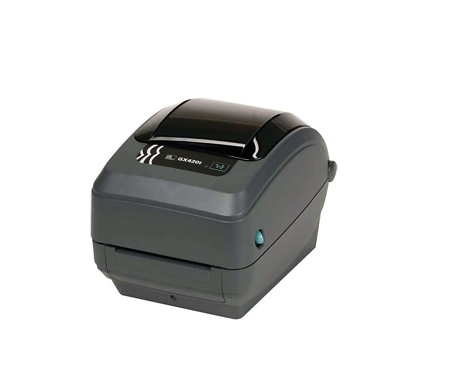 Zebra GX420t GX42-102410-000 203dpi Mono TT USB Serial LAN Label Printer (New Unused)