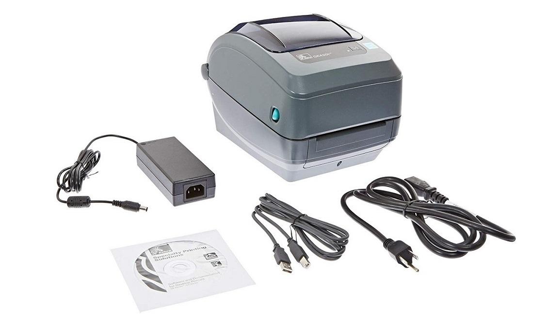 Zebra GK420t GK42-102510-000 203dpi Mono TT USB Serial Parallel Label Printer Thermal Transfer New Sealed