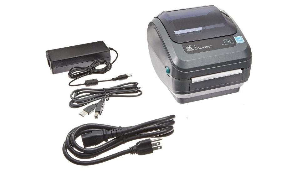 Zebra GK420d GK42-202510-000 203dpi Mono DT USB Serial Parallel Label Printer (New Unused)