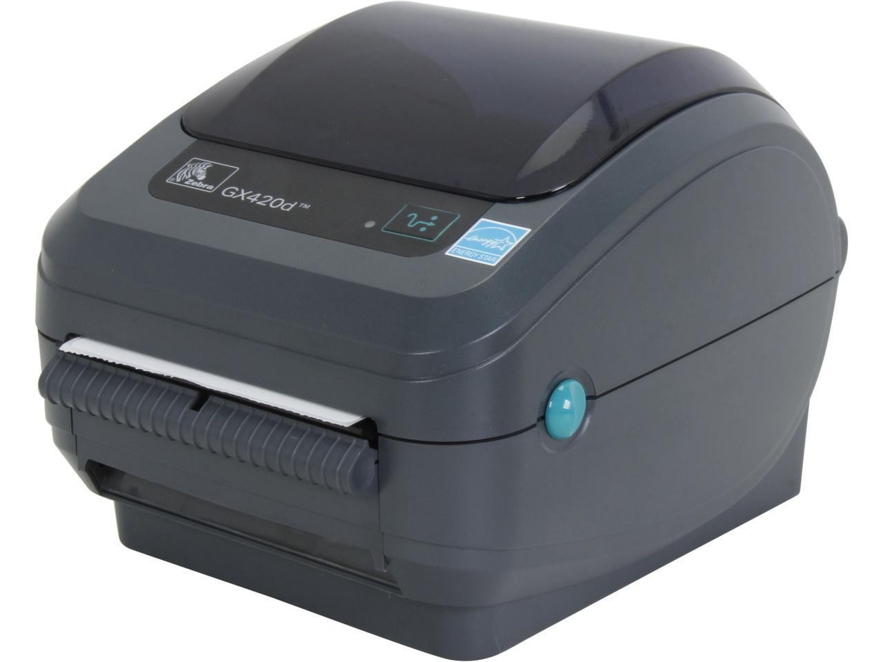 Zebra GX420d GX42-202511-000 203dpi Mono DT USB Parallel Serial Printer
