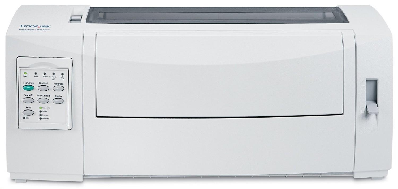 Lexmark 2580N+ Dot Matrix Forms Printer Monochrome 240x144dpi USB Parallel Ethernet 11C0109