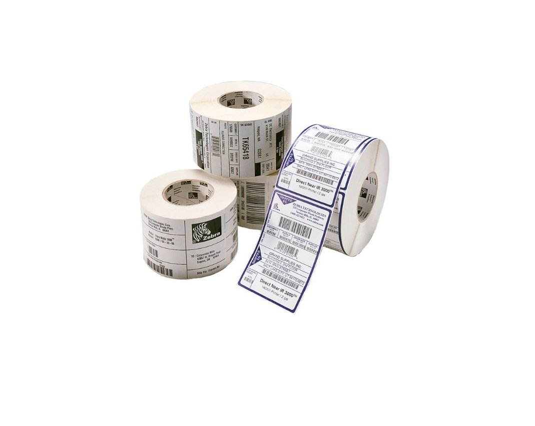 Zebra Z-Select 4000D 2.38x1 DT BarCode Label Pack of 6 10010050