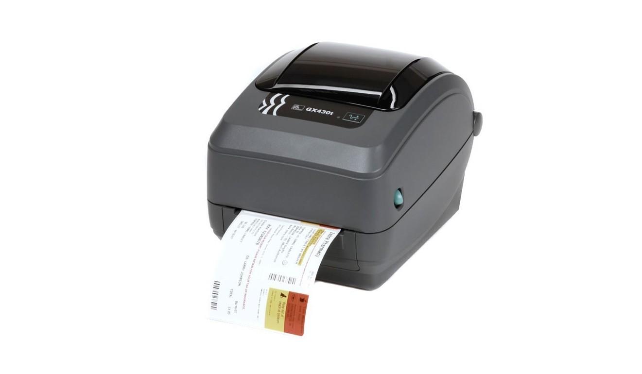 Zebra GX430t Direct Thermal Transfer 300dpi Serial USB LAN BarCode Printer GX43-102410-000