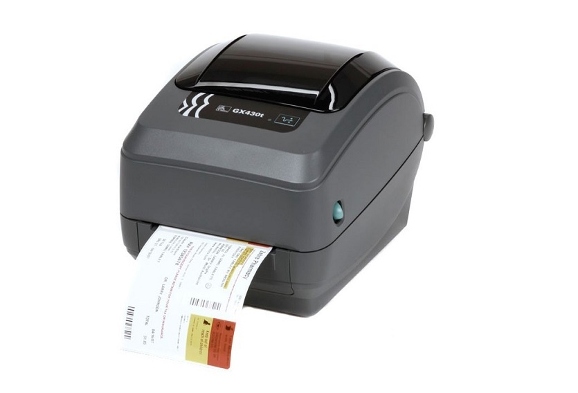 Zebra GX430t Direct Thermal Transfer 300dpi Serial USB LAN BarCode Printer GX43-102410-000