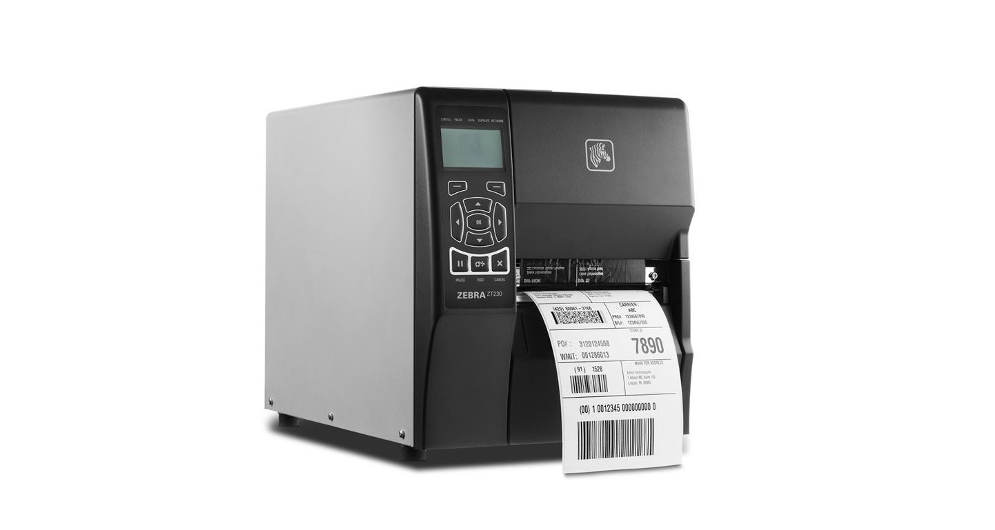 Zebra ZT23042-T01100FZ ZT230 Thermal Transfer 203dpi Serial USB Parallel Mono BarCode Printer ZT23042-T01100FZ