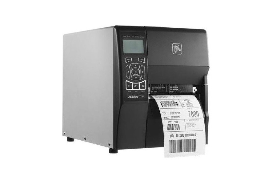 Zebra ZT230 ZT23042-D01000FZ 203dpi Mono DT Serial USB Label Printer