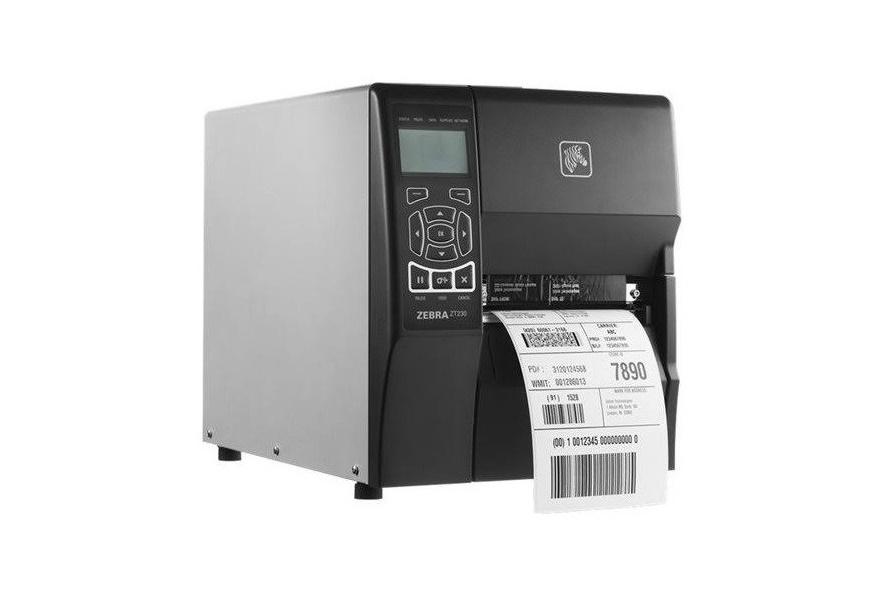 Zebra ZT230 DT Mono 203dpi Receipt Printer Serial USB LAN ZT23042-T01200FZ