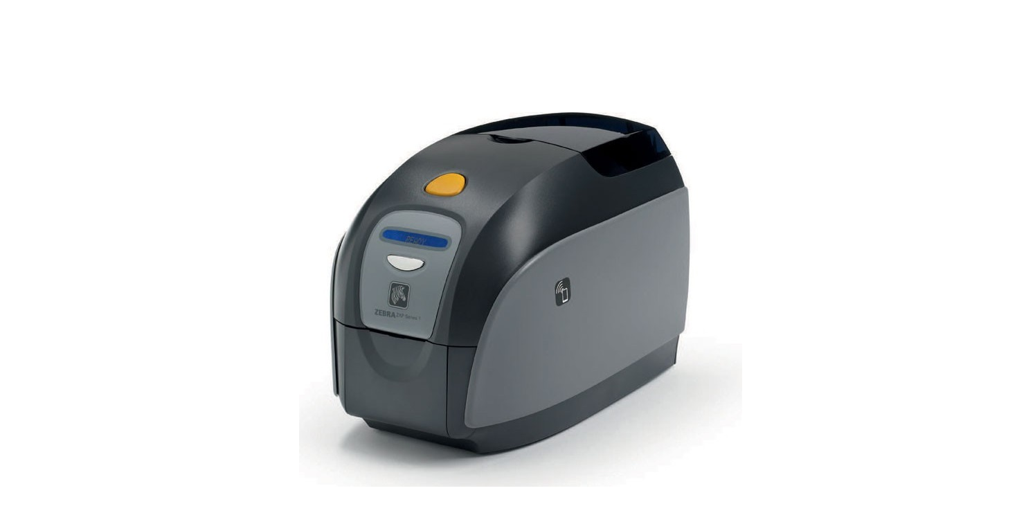 Zebra ZXP Series 1 Color Dye-Sublimation ID Card Printer USB Z11-00000000US00