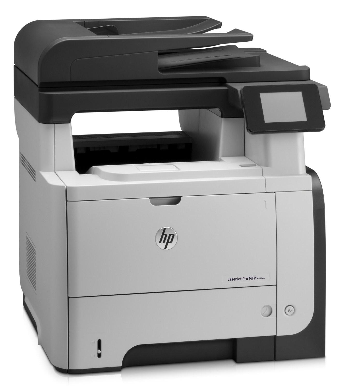 HP LJ MFP M521dn 1200dpi Mono USB LAN Laser Printer A8P79A#BGJ Demo 1K Pages Used