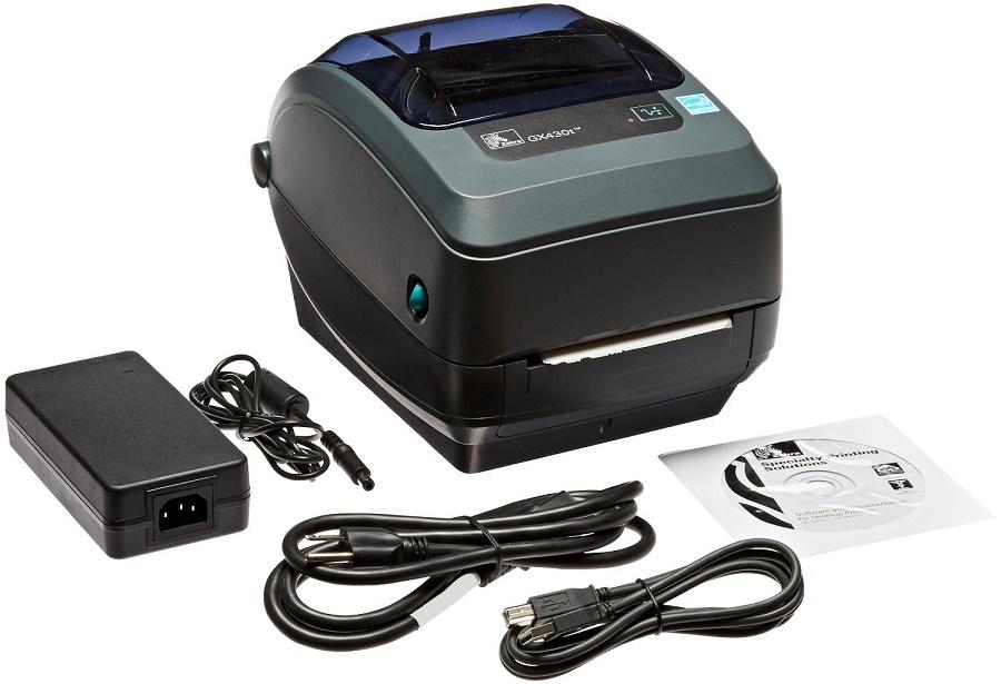 Zebra GX430t GX43-102510-000 300dpi Mono TT USB Serial Parallel BarCode Printer (New Unused)