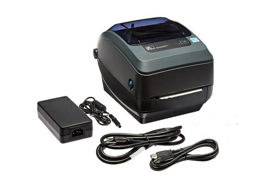 Zebra GX430t GX43-102510-000 300dpi Mono TT USB Serial Parallel BarCode Printer