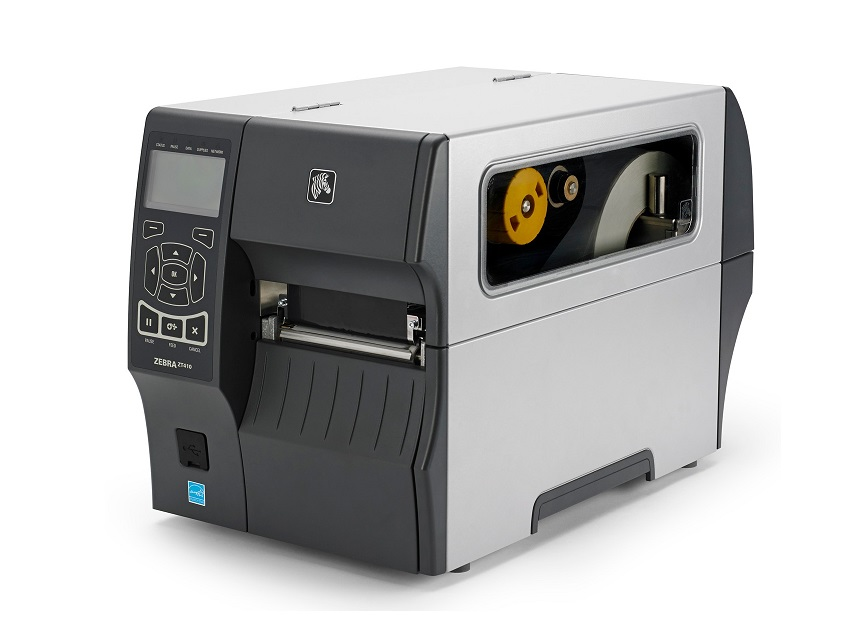 Zebra ZT410 Direct Thermal Transfer Monochrome Label Printer Serial USB BT 2.1 Ethernet ZT41043-T010000Z