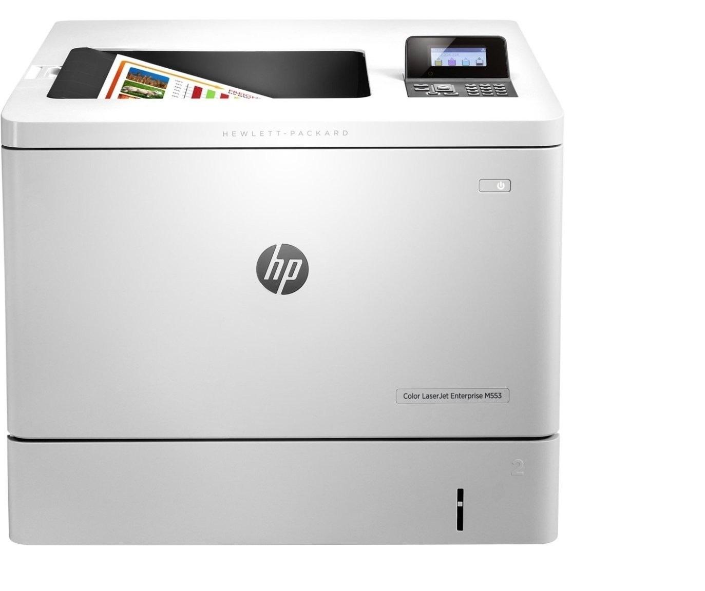 HP B5L24A#BGJ Color LaserJet Enterprise M553n Color USB Ethernet Printer Demo 41 Pages