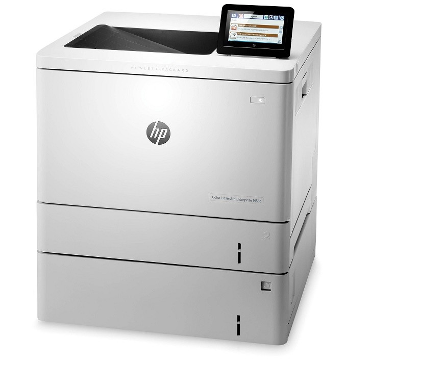 HP LaserJet M553x Laser Color Wireless Enterprise Printer USB Ethernet B5L26A#BGJ (Demo 262 Pages Used)