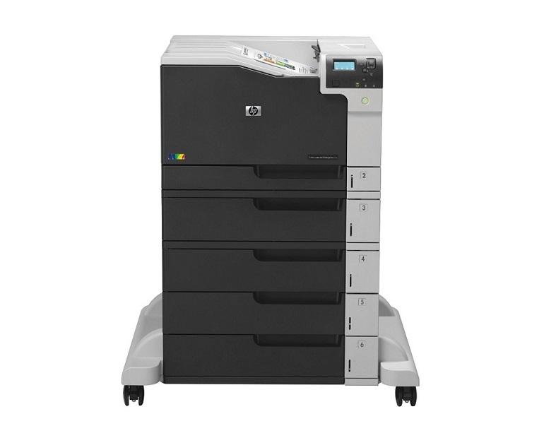 HP Color LaserJet Enterprise M750xh Laser Printer USB Ethernet D3L10A#BGJ (Demo 22861 Pages Used)