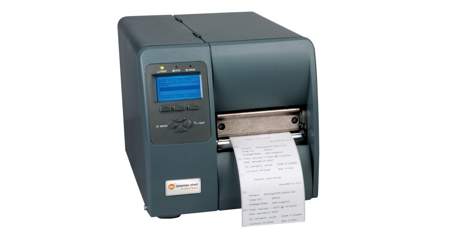 Datamax M-4308 300dpi DT Mono USB Serial Parall LAN Label Printer KA3-00-08900Y07