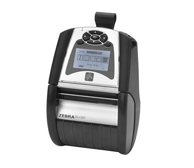 Zebra Qln320 QH3-AUCA0M00-00 Direct Thermal Monochrome Portable Label Wireless Printer