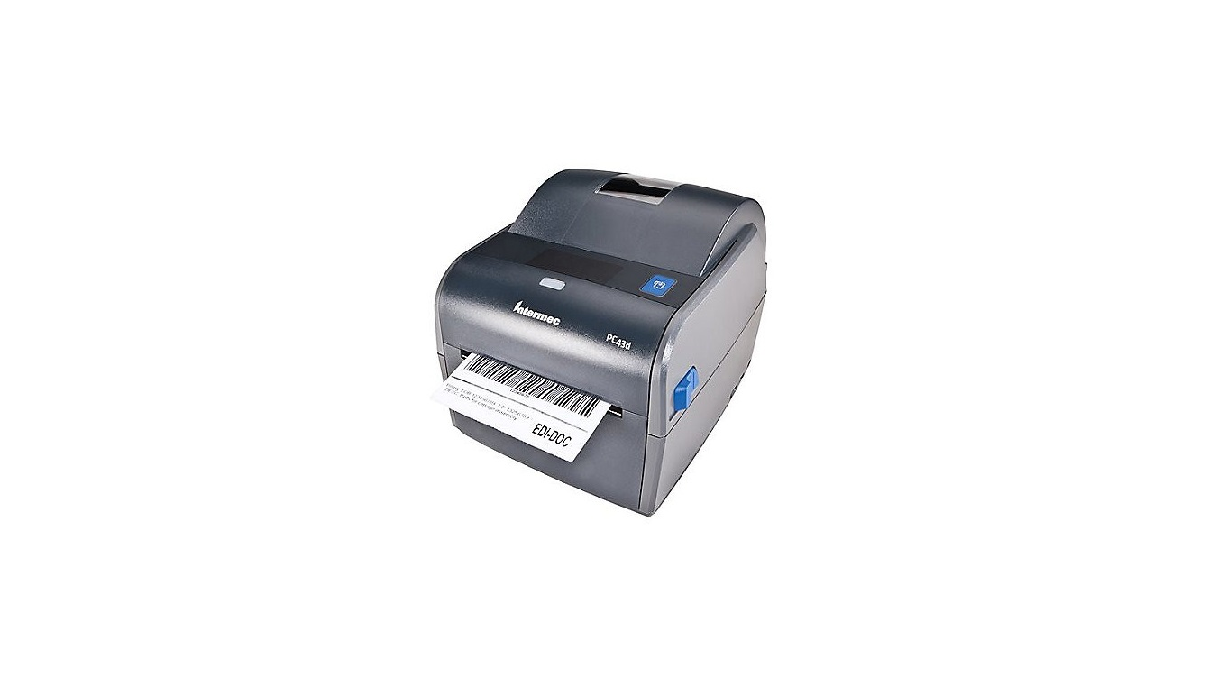 Intermec PC43D Thermal Transfer Monochrome Printer 203dpi USB PC43DA01000201