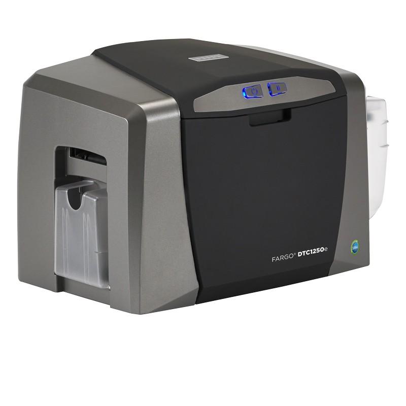 Fargo DTC1250e Color Single Sided ID Card Printer USB 050000