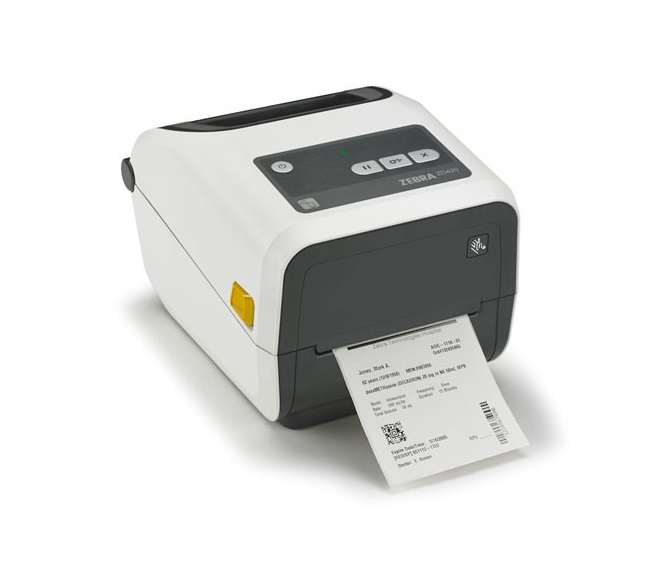 Zebra ZD420 Series Healthcare Monochrome Thermal Transfer BarCode Printer ZD42H42-C01E00EZ USB Ethernet