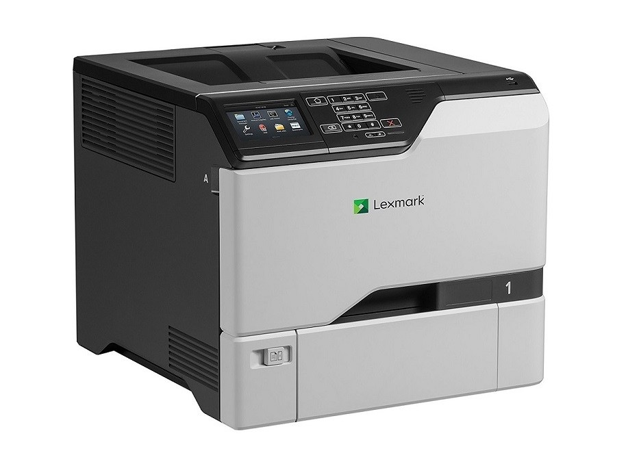 Lexmark CS725de Color Laser Duplex Printer 1200dpi USB LAN 40C9000 ( Unused )