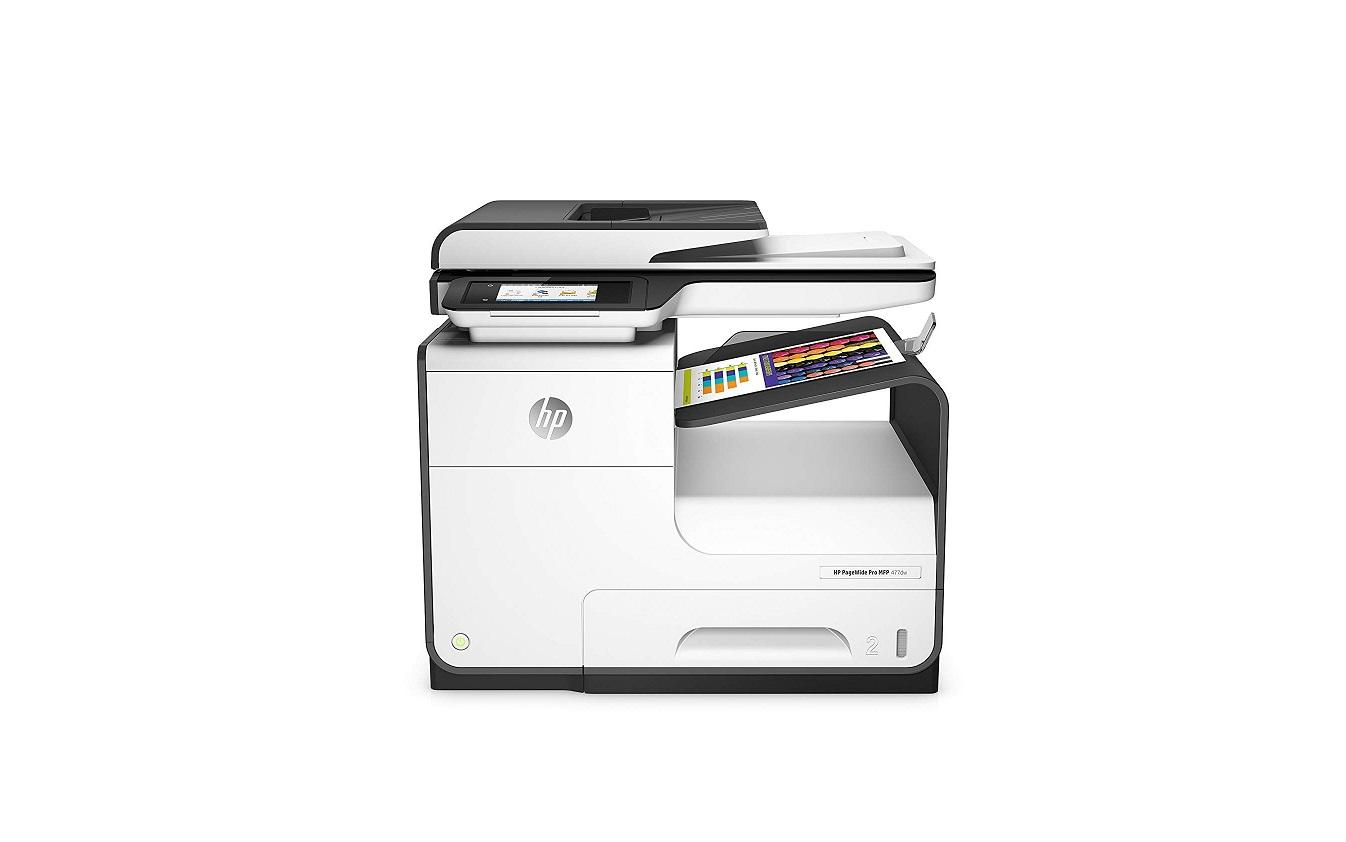 HP Pagewide Pro 477dw USB LAN MultiFunction InkJet Printer D3Q20A#B1H