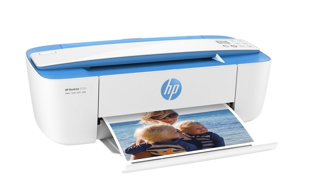 HP T8W54A#B1H DeskJet 3720 All-in-One InkJet Printer Copier Scanner