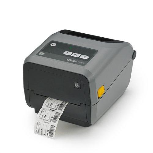 Zebra ZD420 ZD42042-C01W01EZ 203dpi TT USB Wi-Fi BT BarCode Printer