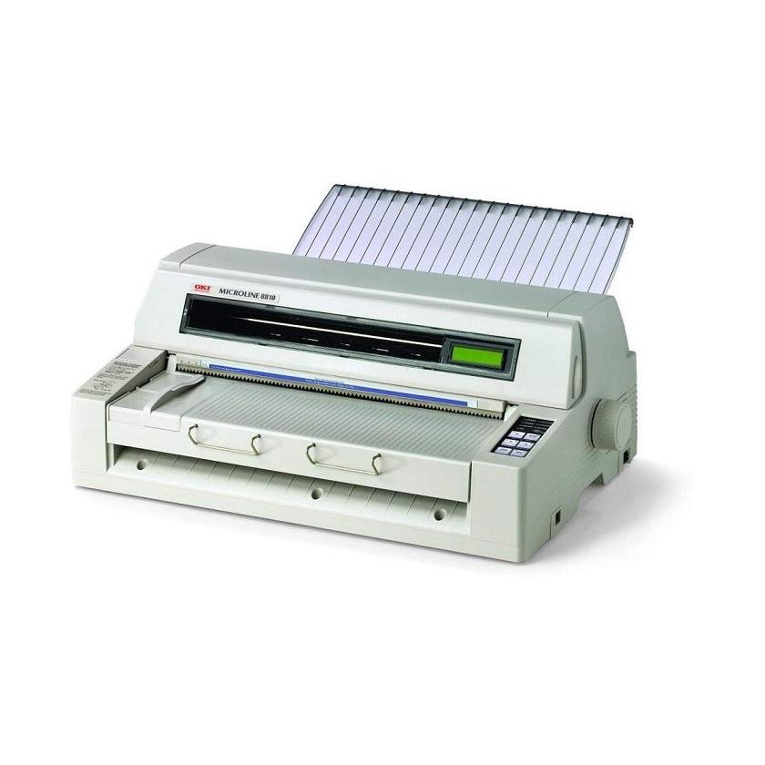 OKI Microline ML8810n Dot Matrix Parallel LAN USB Monochrome Printer 62447004