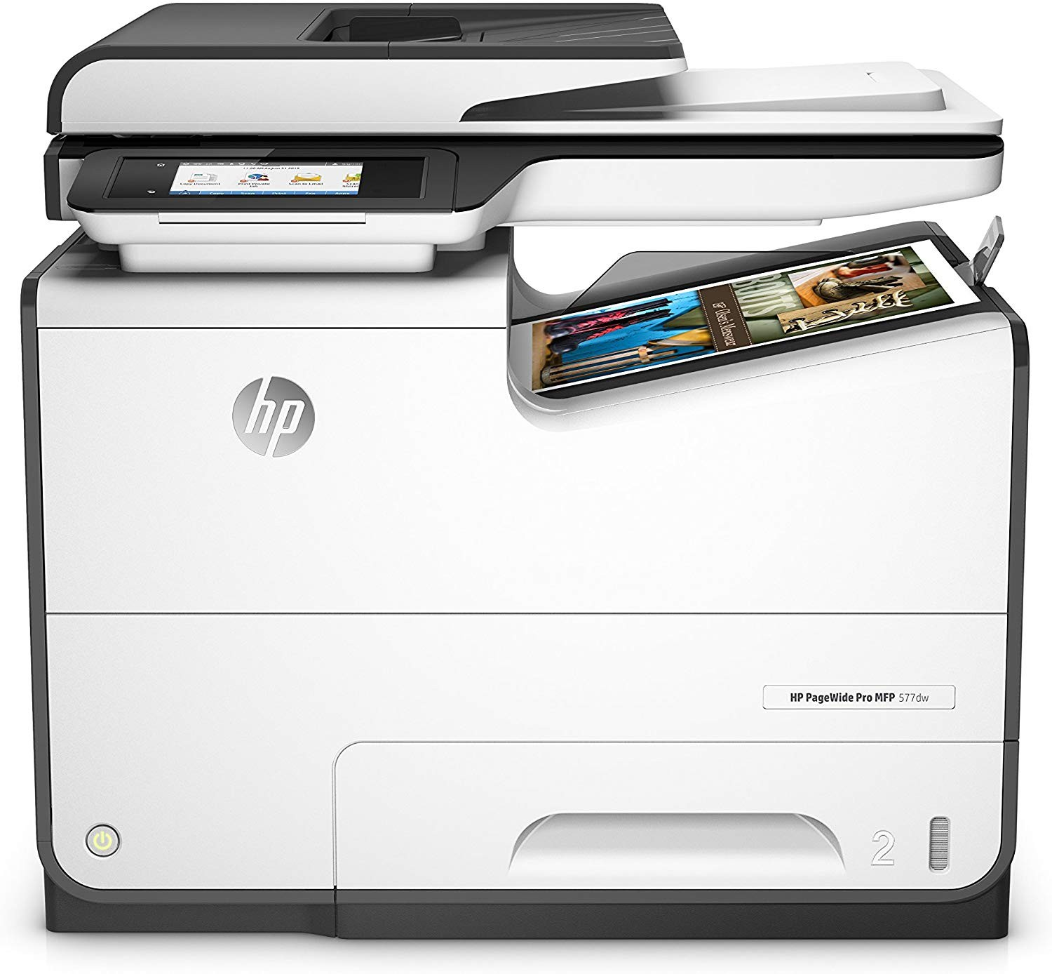 HP Pagewide Pro 577dw Wireless All-in-One MultiFunction InkJet Printer USB Ethernet D3Q21A#B1H (Demo 848 Pgs Used)