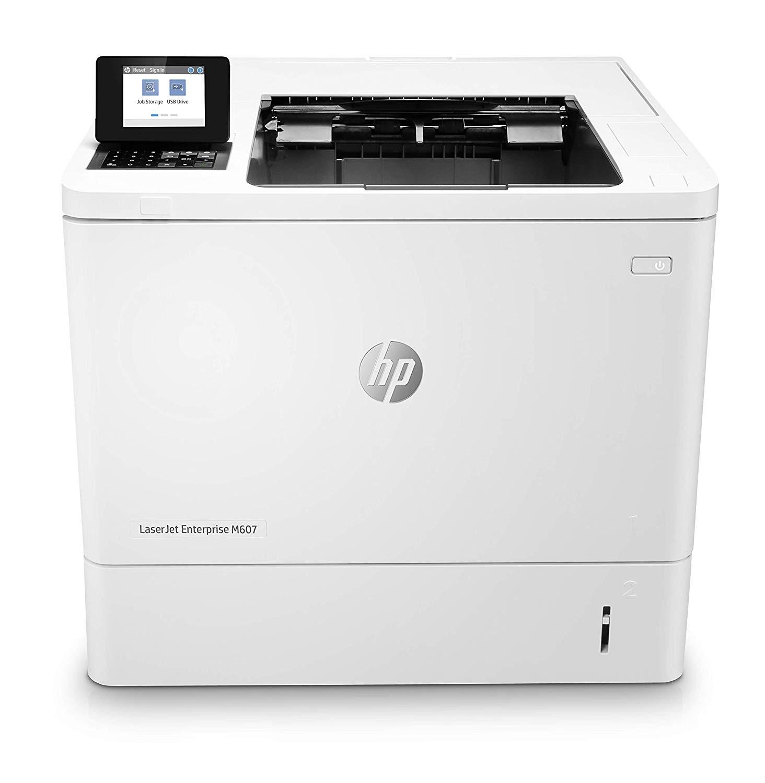 HP LaserJet Enterprise M607n 1200x1200dpi Monochrome Printer K0Q14A#BGJ (Demo 100 Pages Used)