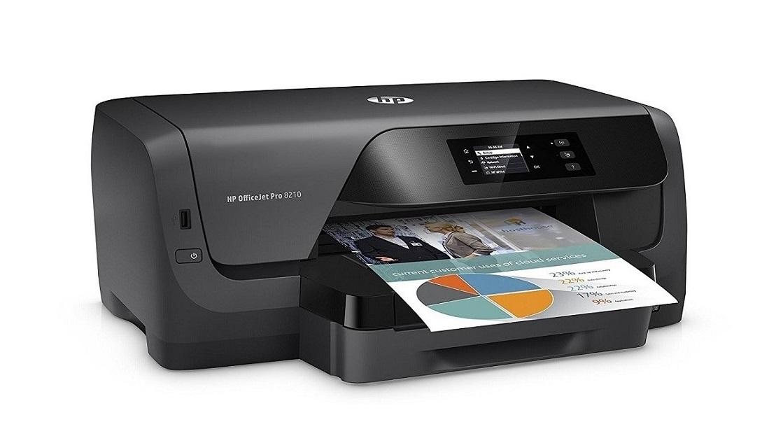 HP D9L64A#B1H OfficeJet Pro 8210 InkJet Wireless Printer USB Ethernet D9L64A#B1H